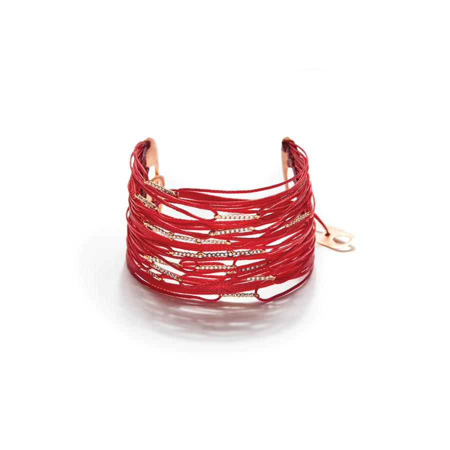 Red mix bracelet