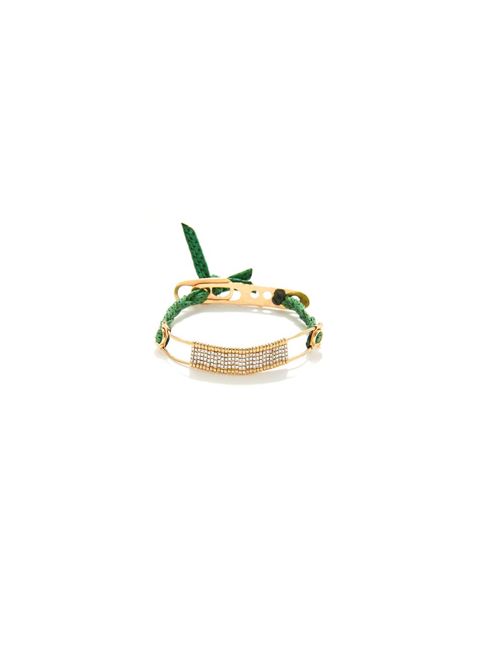 Barret bridge green bracelet