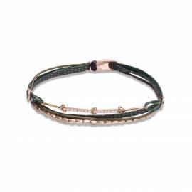Rivière 7cords bracelet with beads