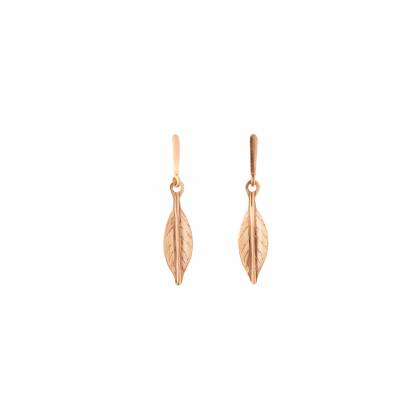 LEAF MEDIUM EARRINGS