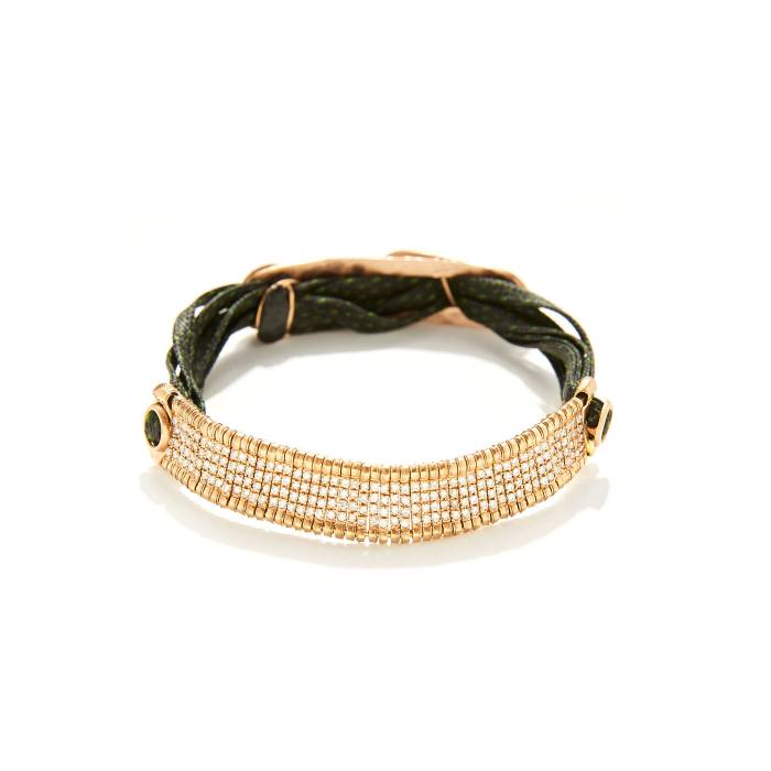 BLACK BARRET BRIDGE BRACELET