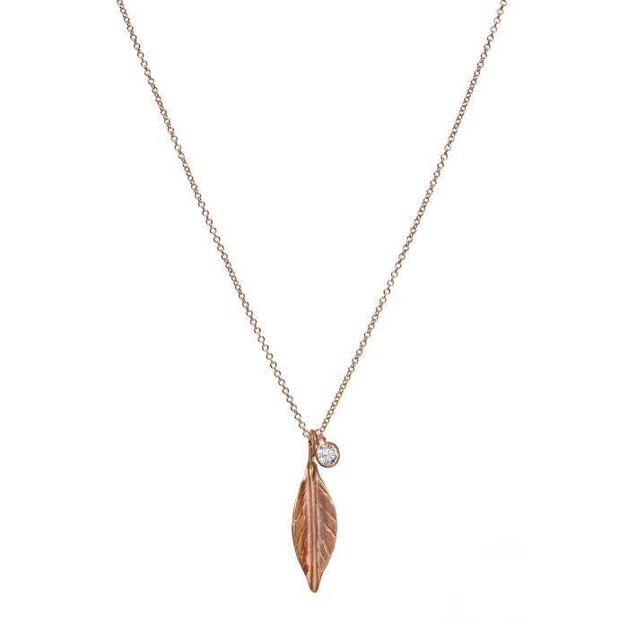 LEAF NECKLACE A