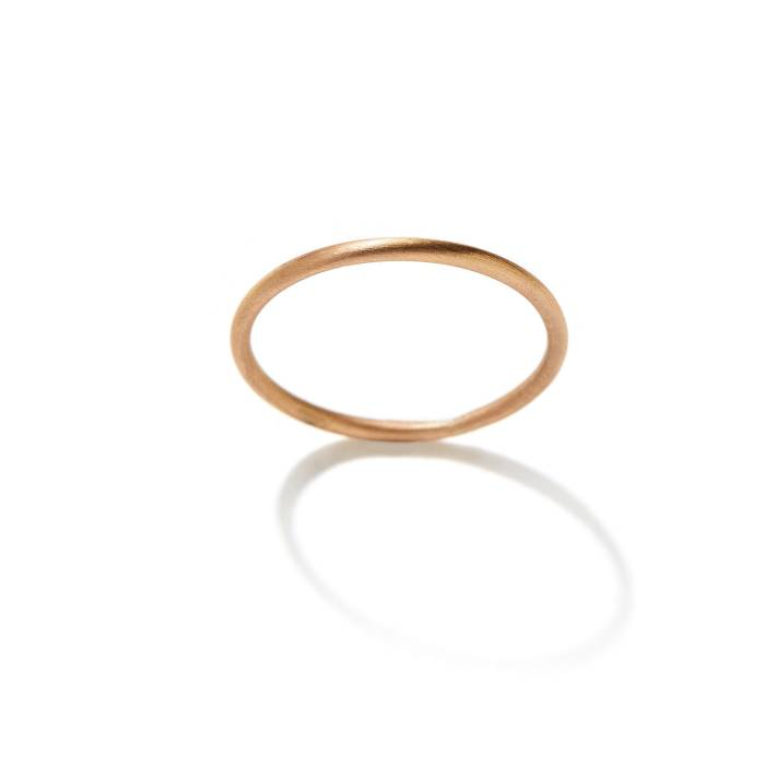 WEDDING BAND CLASSIC THIN TOP