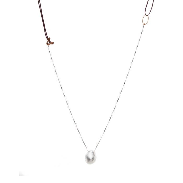 SOUTH SEA PEARL ON CHAIN A