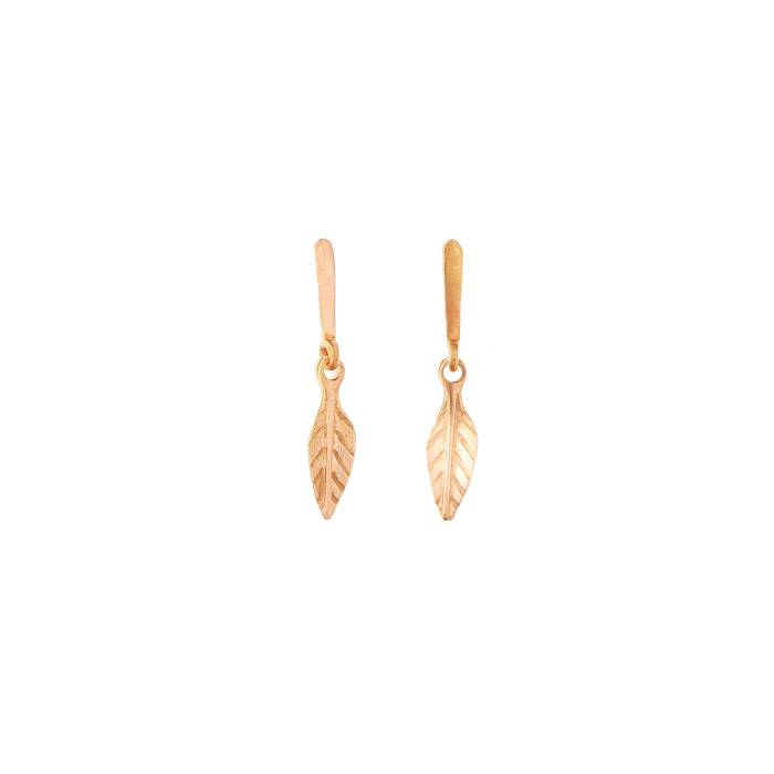 LEAF SMALL EARRINGS
